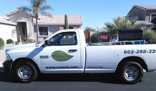 Croach Pest Control - Tempe, AZ Service Vehicle