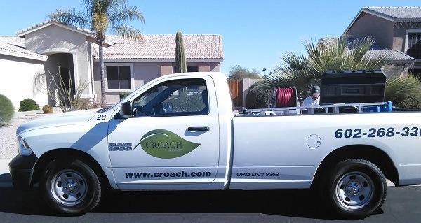 Mesa, AZ Pest Control Croach Vehicle